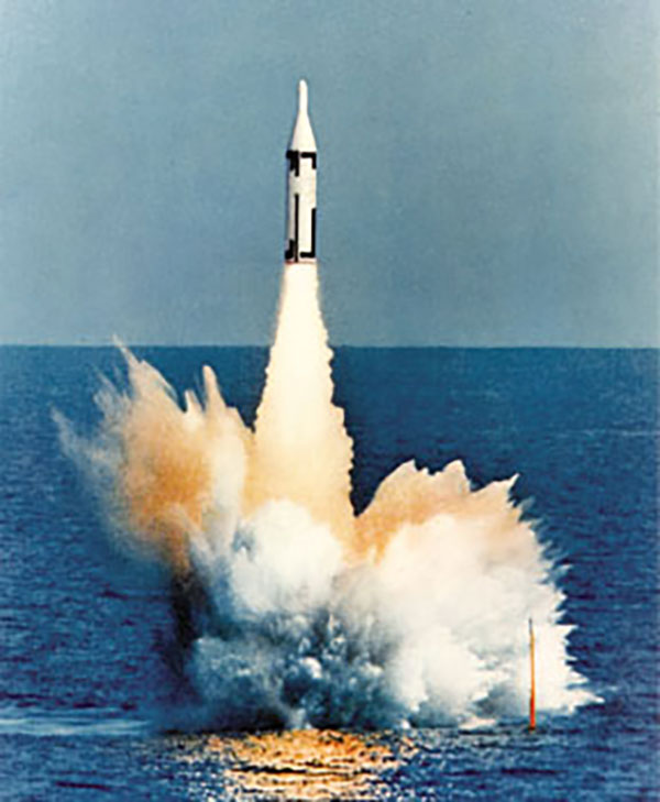 The Polaris missile.