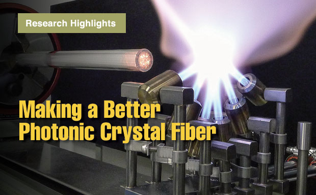 Article title: Making a Better Photonic Crystal Fiber