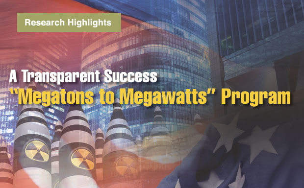Article title: A Transparent Success: Megatons to Megawatts Program