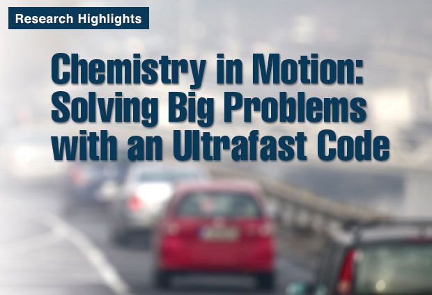 Article title: Chemistry in Motion: Solving Big Problems with an Ultrafast Code