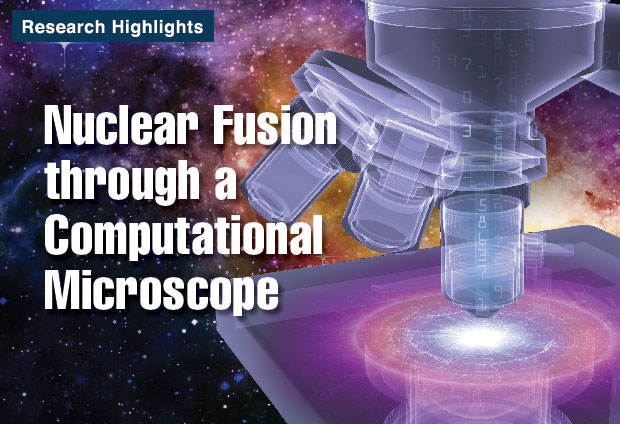 Article title: Nuclear Fusion through a Computational Microscope