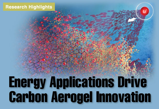 Article title: Energy Applications Drive Carbon Aerogel Innovation
