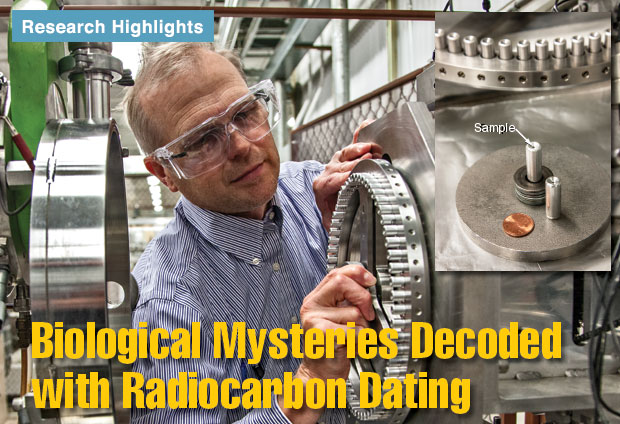 Article title: Biological Mysteries Decoded with Radiocarbon Coding.