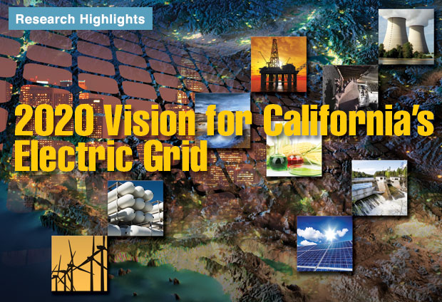 Article title: 2020 Vision for California Electric Grid.