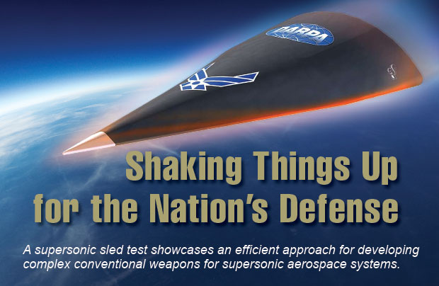 Article title: Shaking Things Upfor the Nation's Defense