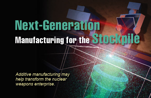 Article title: Next-Generation 							Stockpile