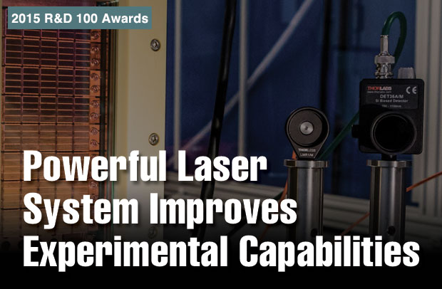 Article title: Powerful Laser System Improves Experimental Capabilities