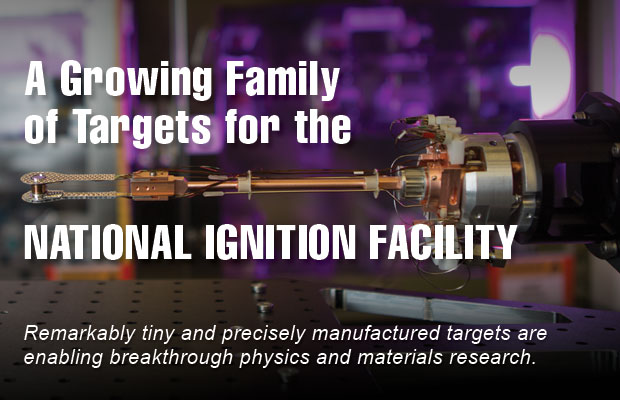 Article title: A Growing Family of Targets for the National Ignition Facility