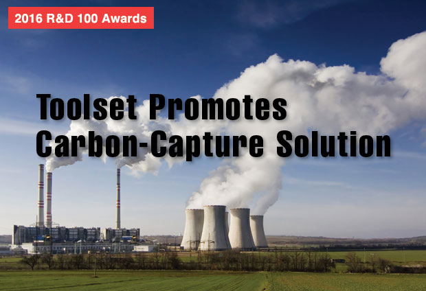 Carbon dioxide, a greenhouse gas, is emitted in large quantities from fossil fuel use in power generation and other industries. The Carbon Capture Simulation Initiative (CCSI) toolset is a fully integrated software suite developed specifically to support the rapid, cost-effective development and scale up of carbon-capture technologies.