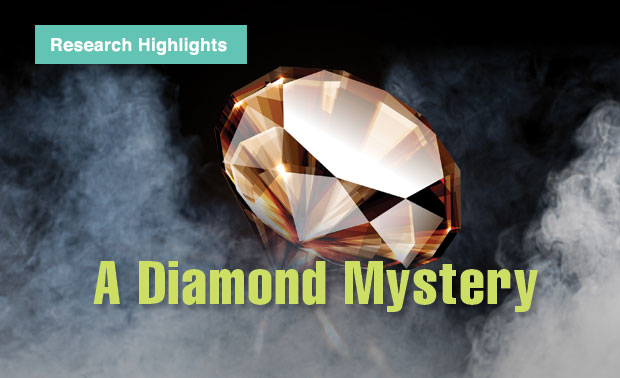 Article title: A Diamond Mystery