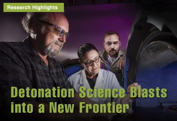 Detonation Science Blasts into a New Frontier