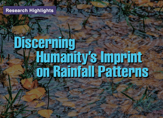 Article title: Discerning Humanity's Imprint on Rainfall Patterns