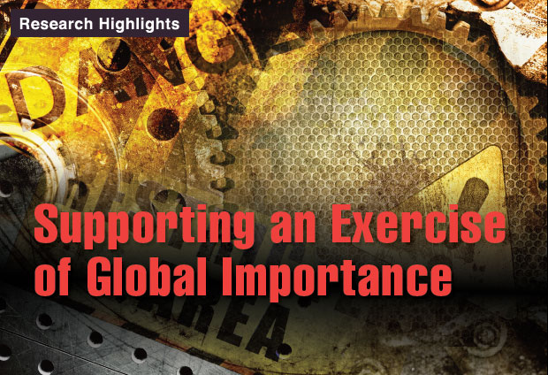 Article title: Supporting an Exercise of Global Importance