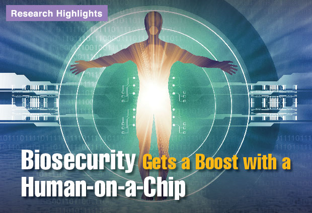 Article title: Biosecurity Gets a Boost with a Human-on-a-Chip