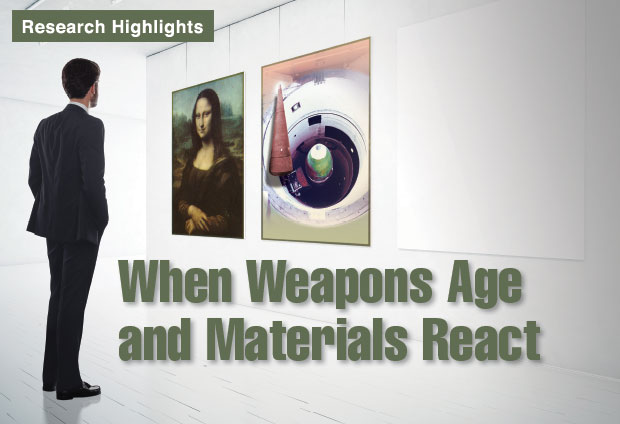 Article title: When Weapons Age and Materials React