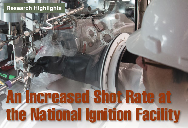 Article title: An Increased Shot Rate at the National Ignition Facility