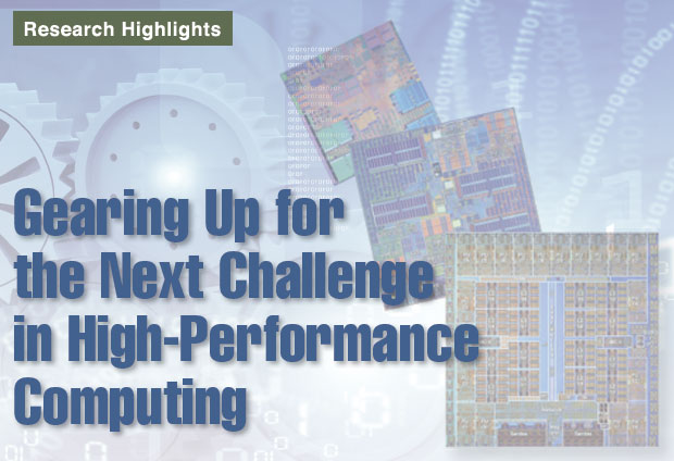 Article title: Gearing Up for the Next Challenge in High-Performance Computing