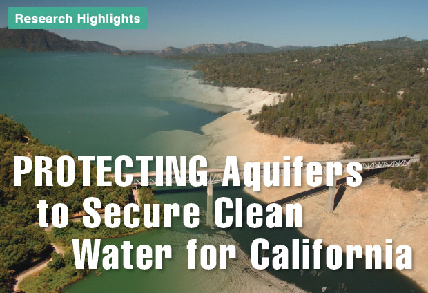 Article title: Protecting Aquifers to Secure Clean Water for California
