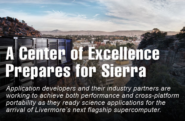 A Center of Excellence Prepares for Sierra