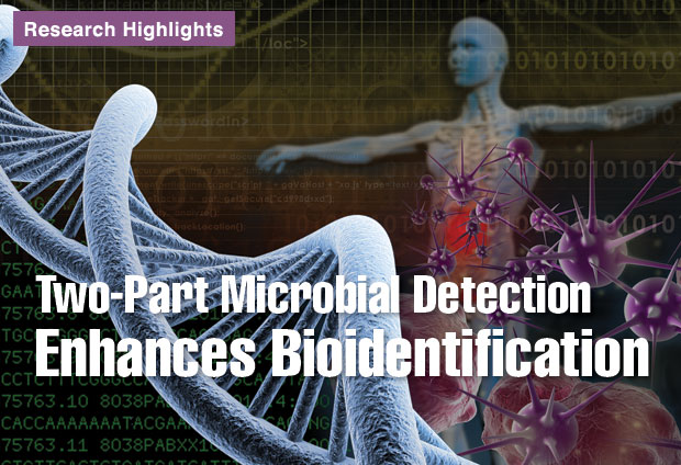 Article title: Two-Part Microbial Detection Enhances Bioidentification