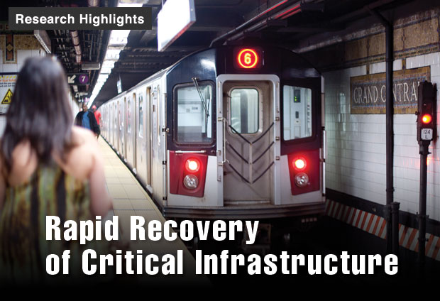 Rapid Recoveryof Critical Infrastructure