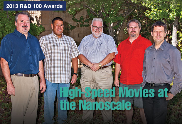 Article title: High-Speed Movies at the Nanoscale; photo of the MM-DTEM development team.
