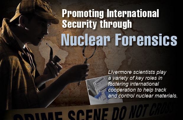 Article title: Promoting International Security through		  Nuclear Forensics; article blurb: