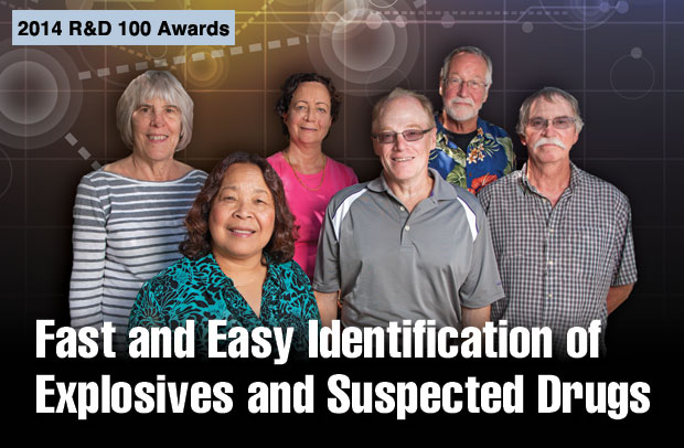 Article title: Fast and Easy Identification of Explosives and Suspected Drugs