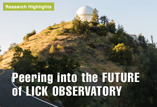 Peering into the Future of Lick Observatory