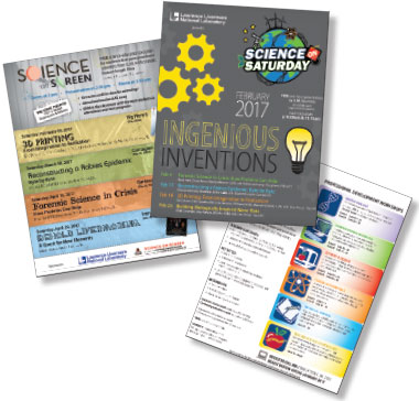 Livermore's Science Education Program activities are promoted online, at regional schools, and within the teaching community.